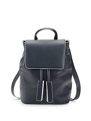 French Connection Vale Drawstring Backpack Blue