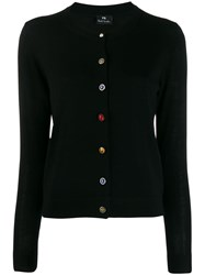 Paul Smith Ps Classic Slim Fit Cardigan Black