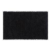 Amara Bobble Bath Mat Black