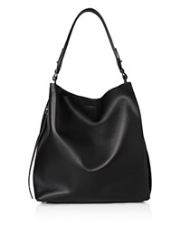 Allsaints Paradise North South Tote Black