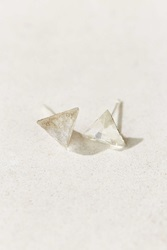 Diament Jewelry X Urban Renewal Clear Triangle Crystal Stud Earring Assorted