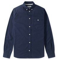 Norse Projects Anton Oxford Shirt Blue