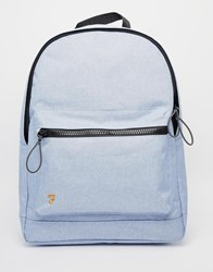 Farah Corwin Marl Backpack Blue