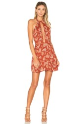Ale By Alessandra X Revolve Bia Dress Burnt Orange