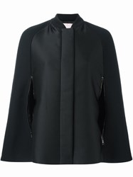 Giamba Cape Coat Black