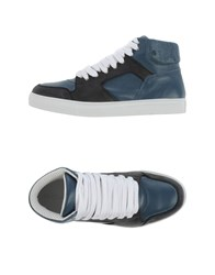 Kris Van Assche Krisvanassche Footwear High Tops And Trainers Men Slate Blue