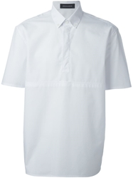 Kris Van Assche Short Sleeve Button Down Shirt