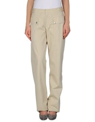 Dirk Bikkembergs Sport Couture Casual Pants Sand