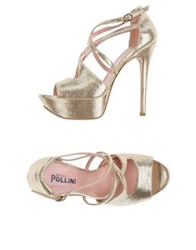 Studio Pollini Sandals Platinum