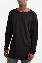 The Narrows Fishtail Long Sleeve Tee Black