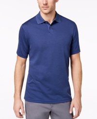 Tasso Elba Men's Classic Fit Supima Blend Cotton Polo Created For Macy's Navy On Blue