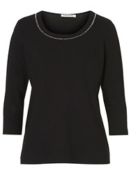 Betty Barclay Embellished T Shirt Black