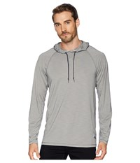 Tommy Bahama Ocean Tides Performance Hoodie Type Writer Clothing Gray