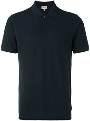 Armani Collezioni Classic Polo Shirt Men Cotton Xxl Black