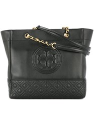 Tory Burch Fleming Tote Bag Black