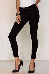 Nasty Gal Cheap Monday Mid Spray Jeans