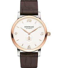 Montblanc 107309 Star Stainless Steel Watch Steel And Rose Gold