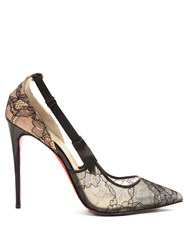 Christian Louboutin Hot Jeanbi 100Mm Lace Pumps Black