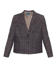 Kolor A Line Embroidered Blazer