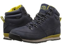 The North Face Back To Berkeley Redux Leather Urban Navy Antique Moss Green Men's Hiking Boots