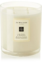 Jo Malone London Lime Basil And Mandarin Scented Luxury Candle Colorless