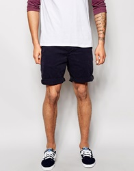 New Look Chino Shorts Navy