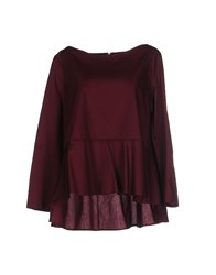 Hope Collection Blouses Maroon