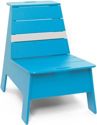 Loll Designs Racer Outdoor Lounge Chair Sky Cloud Blue
