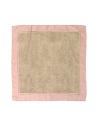 Borbonese Square Scarves Light Pink