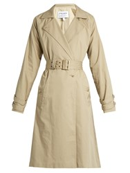 Frame Classic Cotton Trench Coat Beige