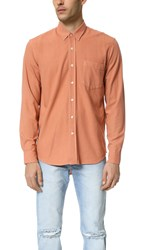 Our Legacy Silk Classic Shirt Pink