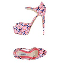 Brian Atwood Sandals Coral