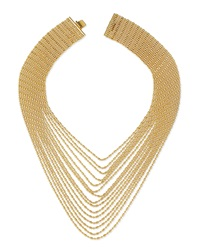 Auden Leighton Multi Strand Chain Necklace