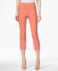 Styleandco. Style Co. Pull On Capri Pants Only At Macy's Peach Zing