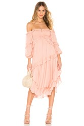 Spell And The Gypsy Collective Clementine Mermaid Dress Pink