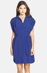 Women's Kut From The Kloth Drop Shoulder Shirtdress