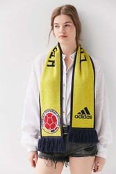 Adidas Originals World Cup Columbia Soccer Scarf Yellow Multi