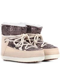 Inuikii Galway Suede Ankle Boots Brown