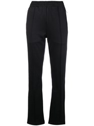 Ck Calvin Klein Jeans Side Stripe Track Pants Black