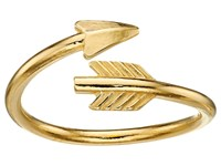 Alex And Ani Love Struck Arrow Wrap Ring Gold Ring