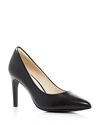 Cole Haan Amelia Pointed Toe Pumps Black
