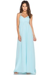 Amanda Uprichard Kingston Gown Blue