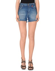 Replay Denim Denim Shorts Women Blue