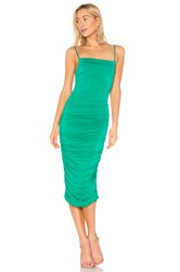 Privacy Please Camille Midi Dress Green