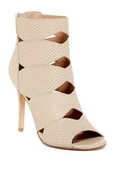 Charles By Charles David Reform Open Toe Bootie White