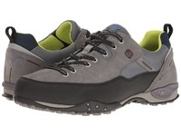 Allrounder By Mephisto Tacco Tex Black Rubber Ash Suede Men's Shoes Gray