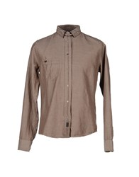 We Are Replay Shirts Shirts Men Khaki