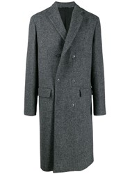 Oamc Oversized Coat Grey