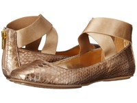 Kenneth Cole Reaction Bella Dream Gold Women's Dress Flat Shoes