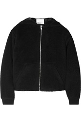 Alexander Wang Hooded Wool Felt Jacket